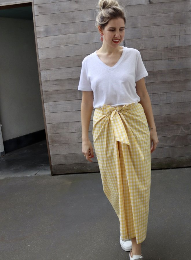 Skirt Anna Yellow