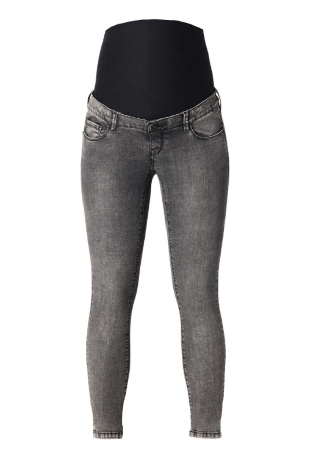 Jeans  skinny grey denim