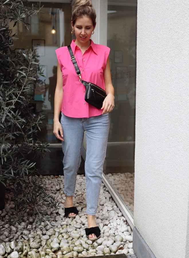Yasagana shirt fandango pink