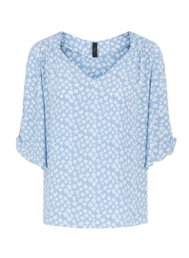 Yaslura shirt dusk blue