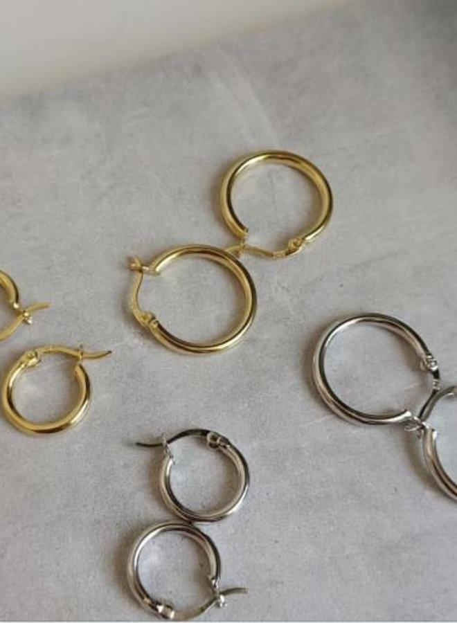 Earrings hoops small