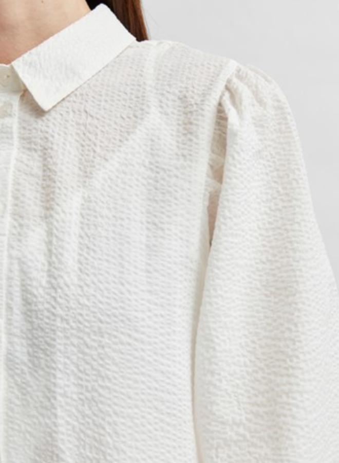 Nanna midi dress white
