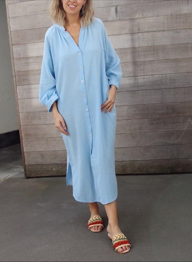 Tetra dress Cécile blue