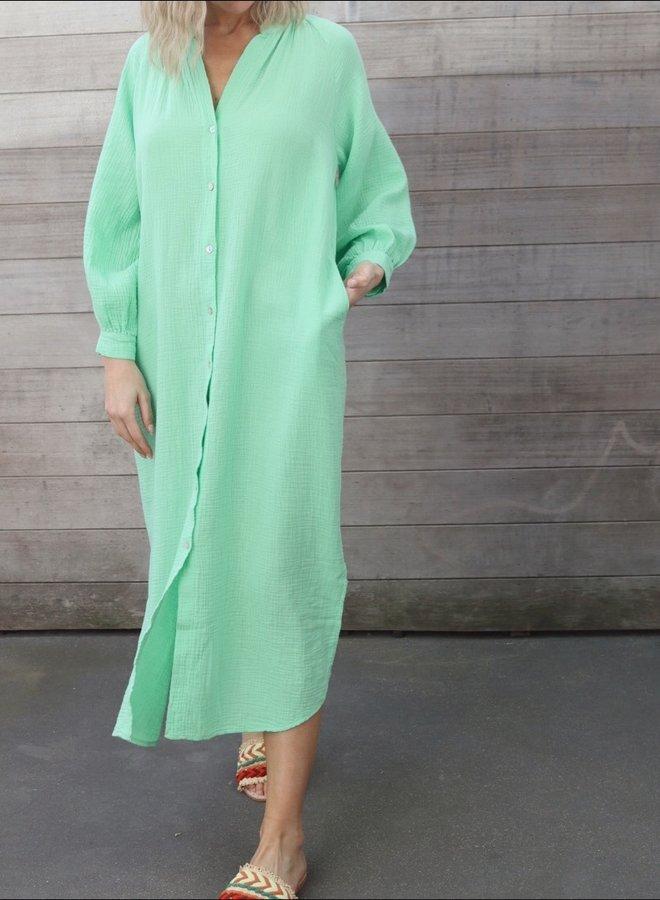 Tetra dress Cécile mint