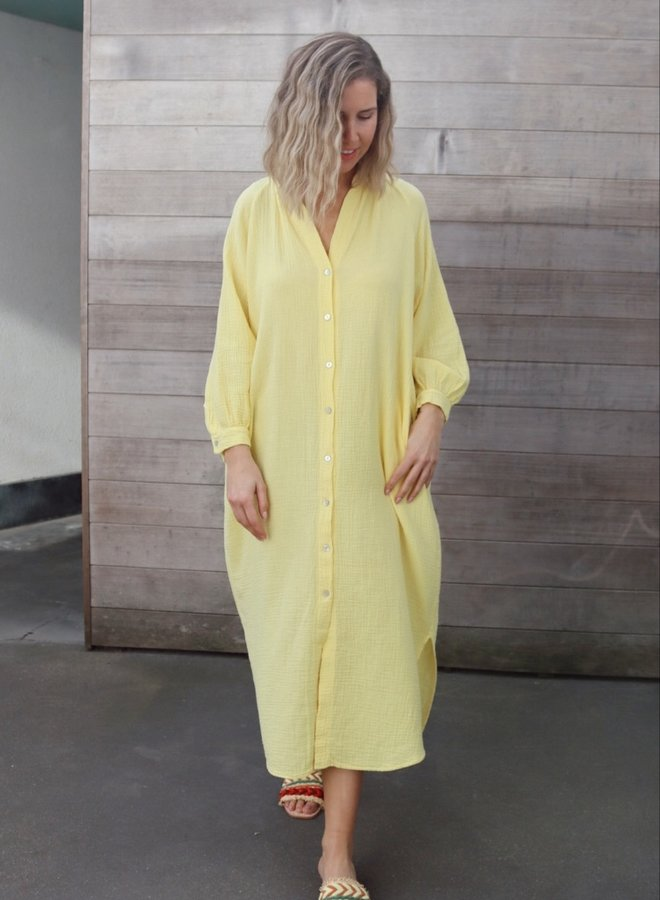 Tetra dress Cécile yellow