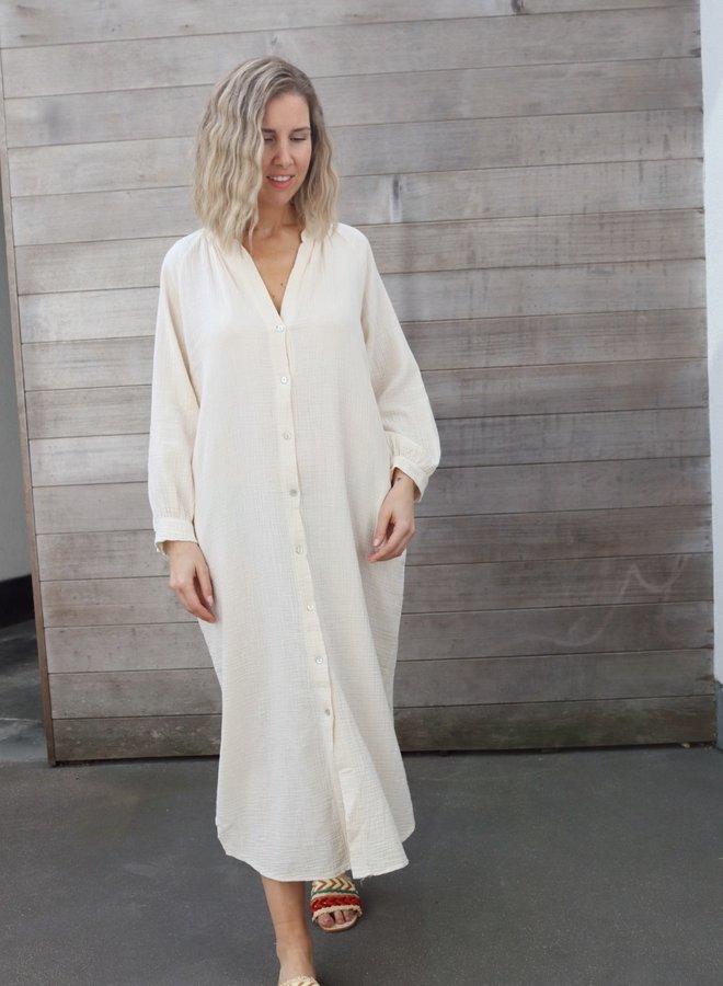 Tetra dress Cécile sand