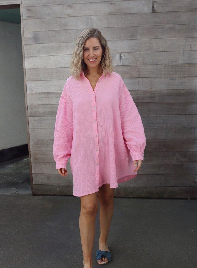Tetra dress Iris pink