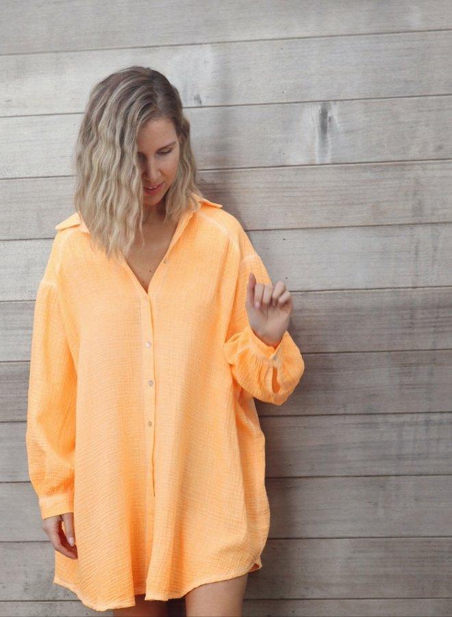 Tetra dress Iris orange
