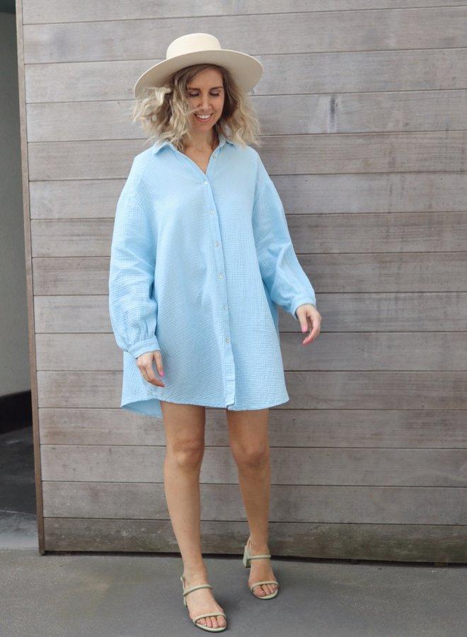 Tetra dress Iris blue