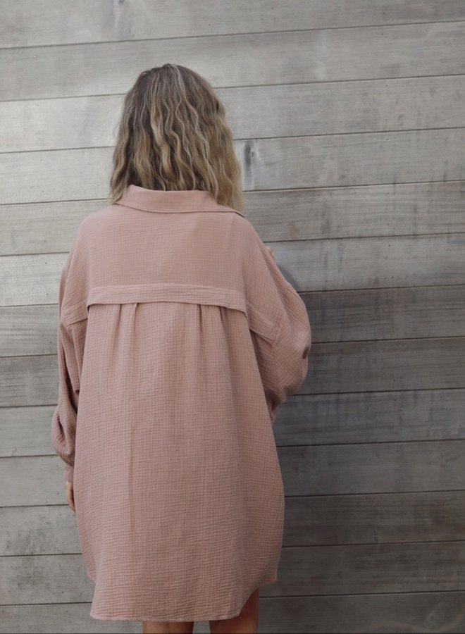 Tetra dress Iris camel