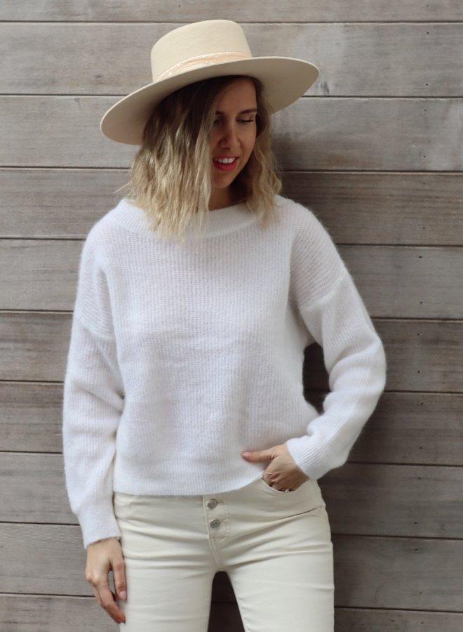Knit Noa white