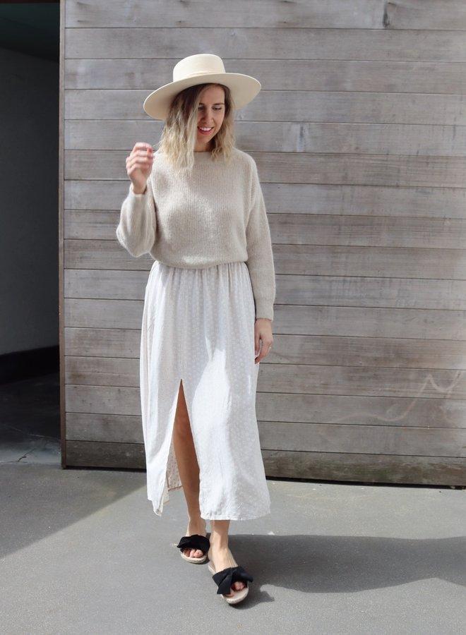 Skirt Margriet white