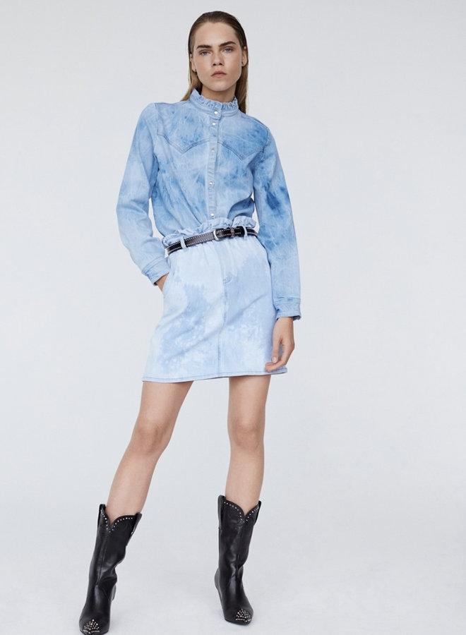 Shirt SS denim blue