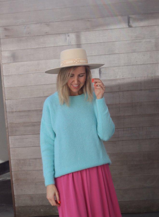 Knit Noelle light blue
