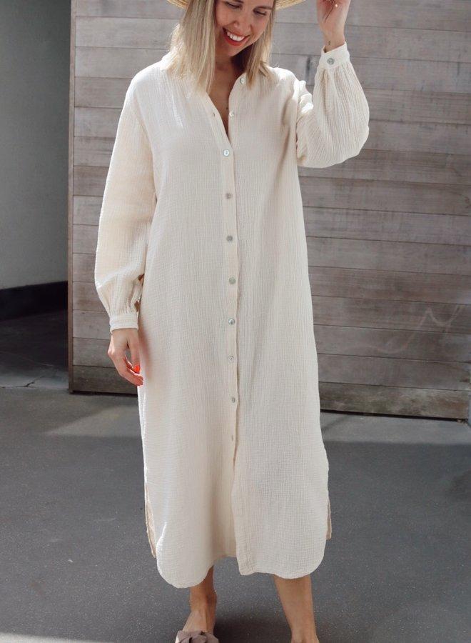 Tetra dress Colette ecru
