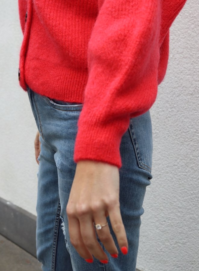 Knit Charlotte-Colette Redish
