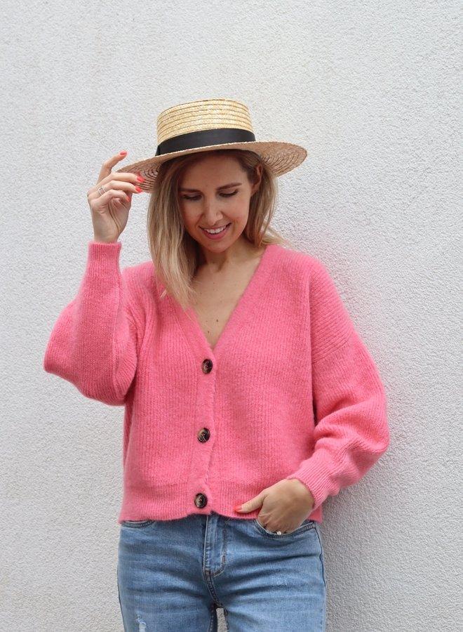 Knit Charlotte-Colette Bright Pink