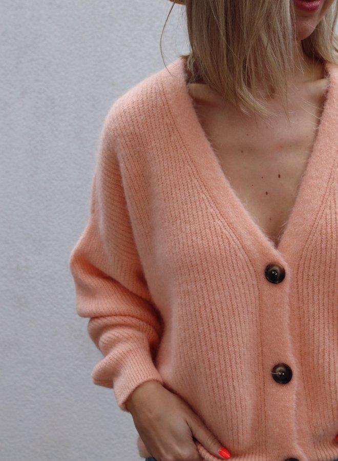 Knit Charlotte-Colette Peach