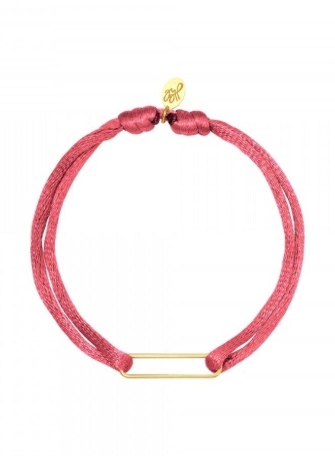 Bracelet Clip Framboise