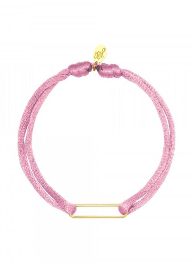 Bracelet Clip Pale Pink