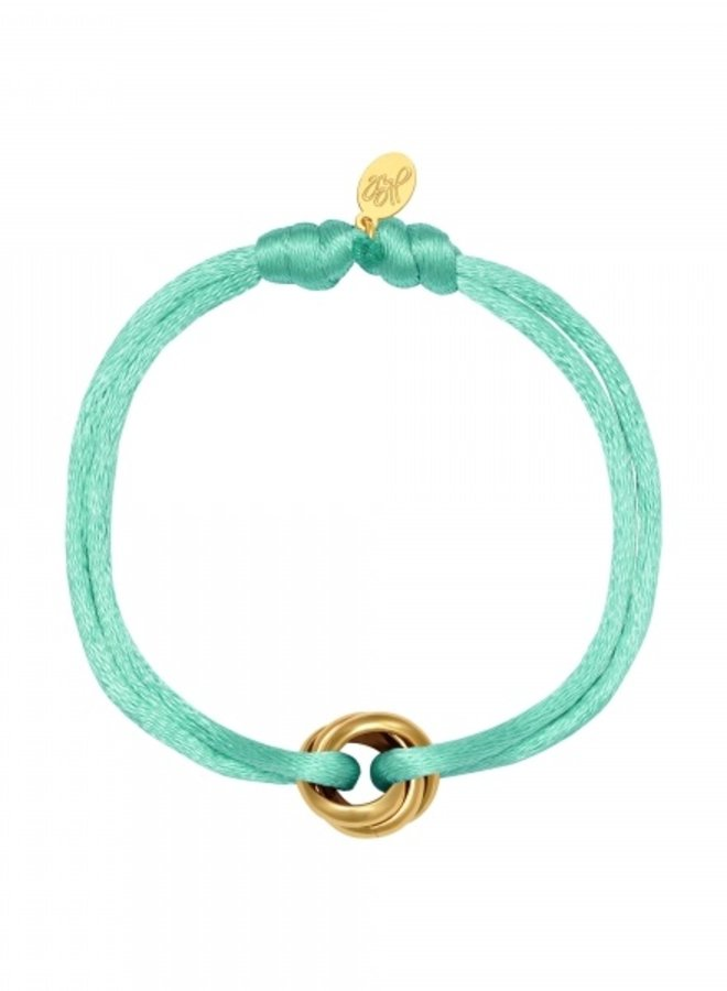 Free bracelet Mother's Day Mint Knot
