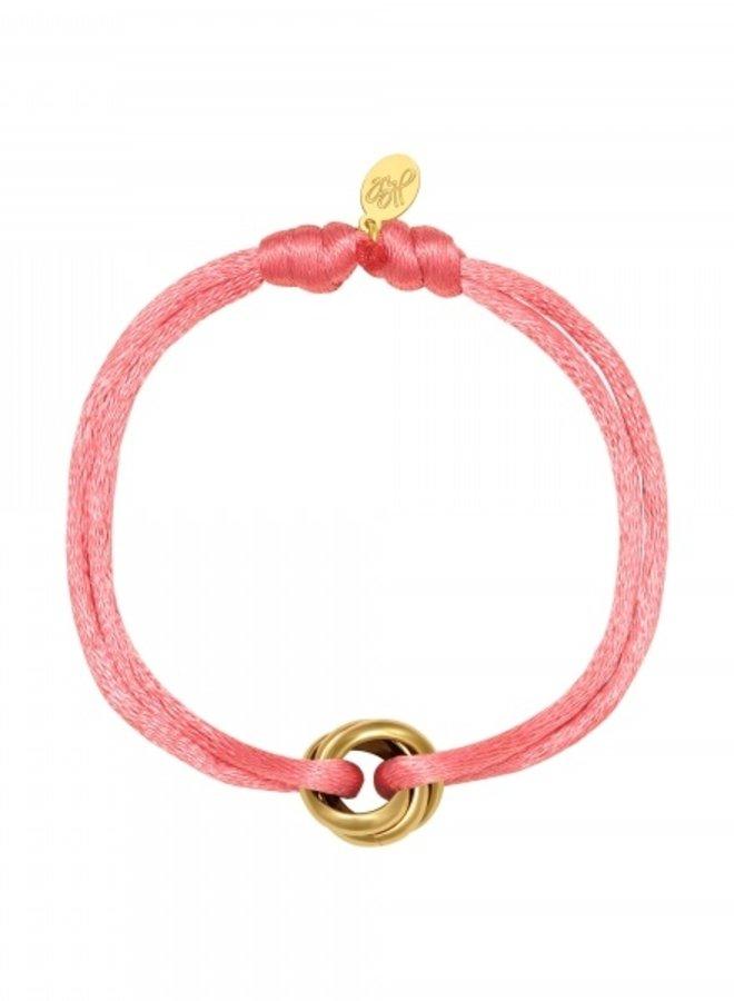 Bracelet Knot Pink