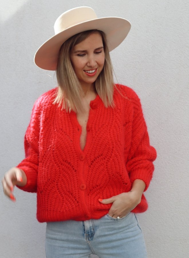 Knit Phoebe-Colette Reddish