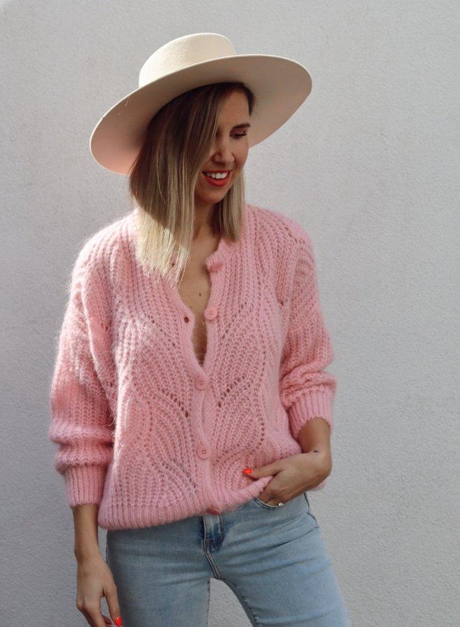 Knit Phoebe-Colette Pastel Pink