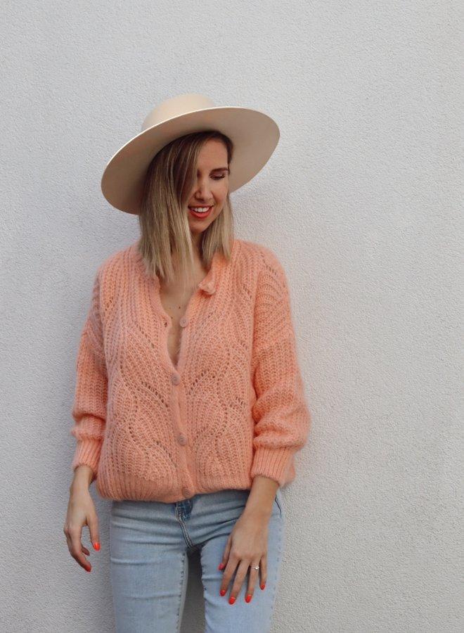 Knit Phoebe-Colette Peach