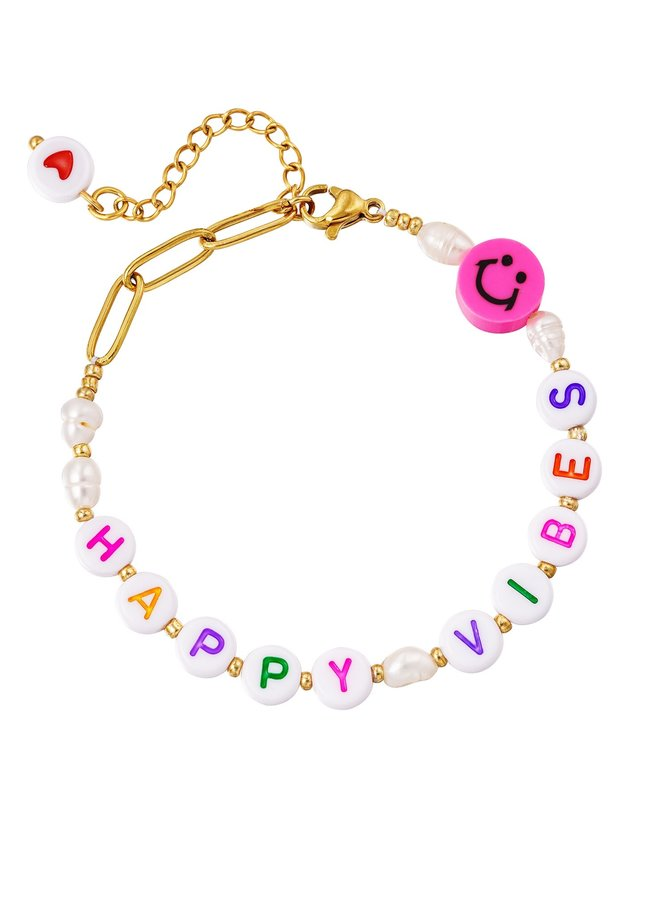 Armband Happy Vibes