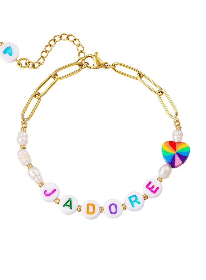 Armband J'adore