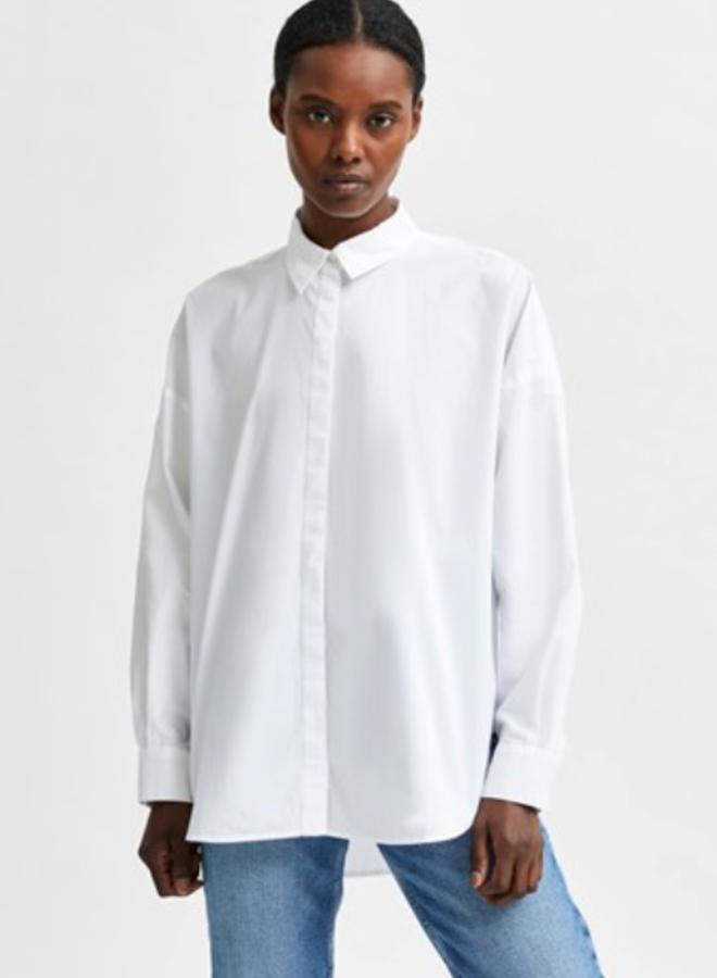 Slfhema shirt  bright white