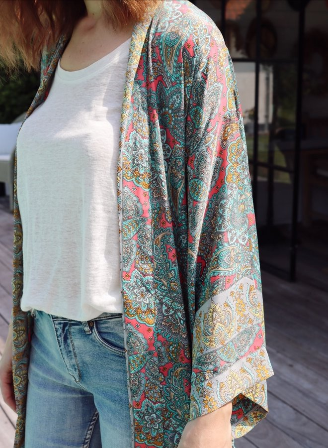 Kimono Melia fuchsia