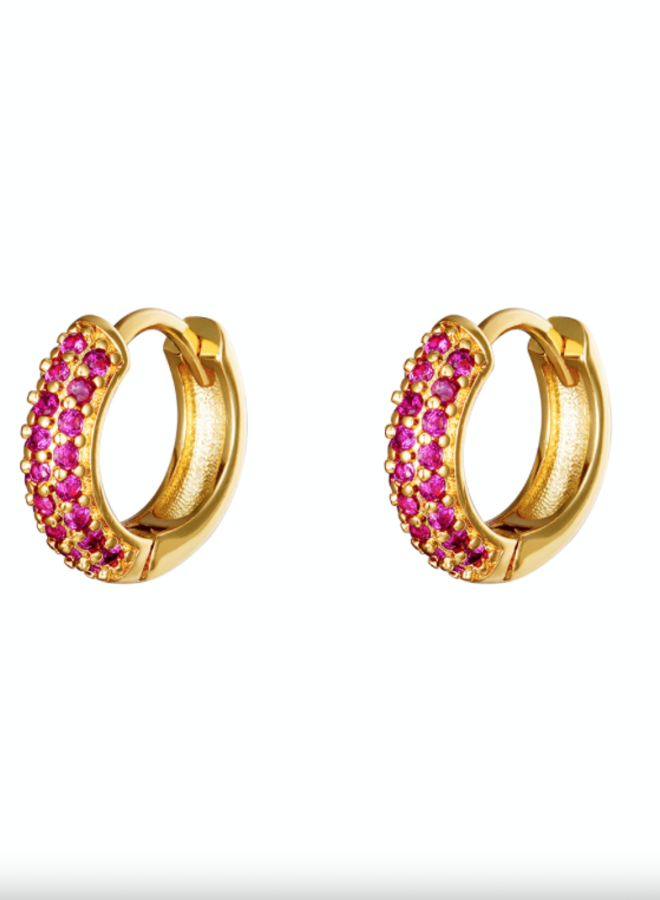 Earrings desire pink