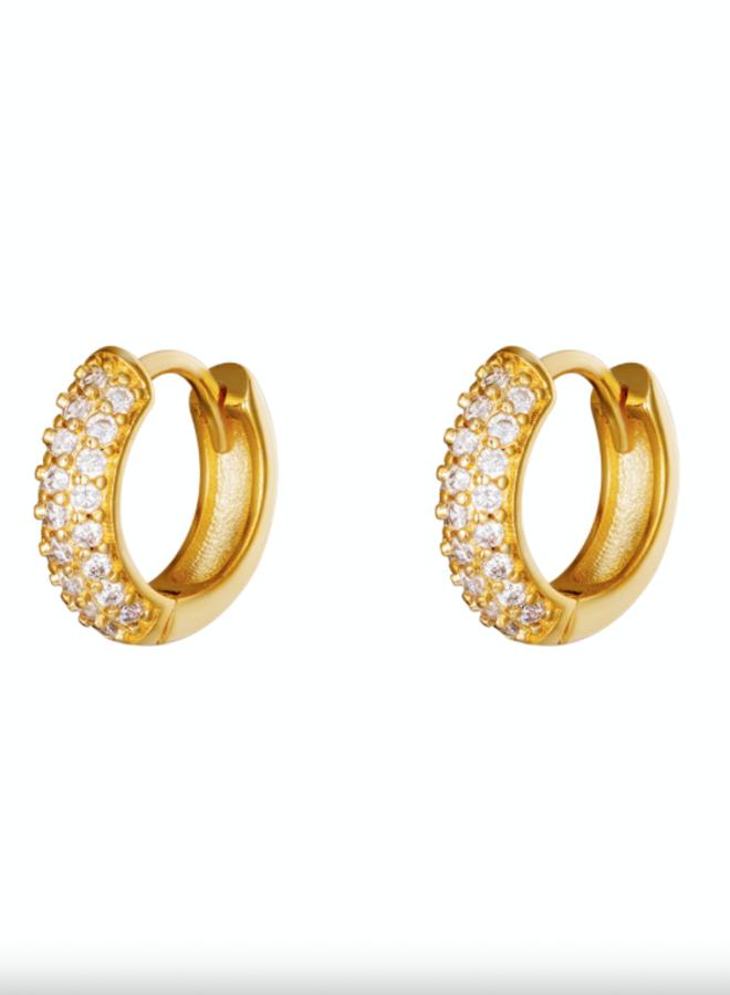 Earrings desire white