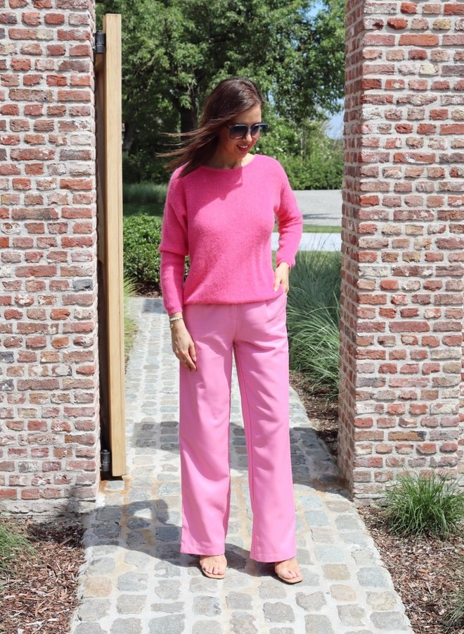 Yasserena wide pants fuchsia pink