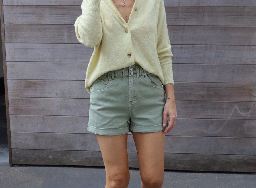 Jeans short khaki