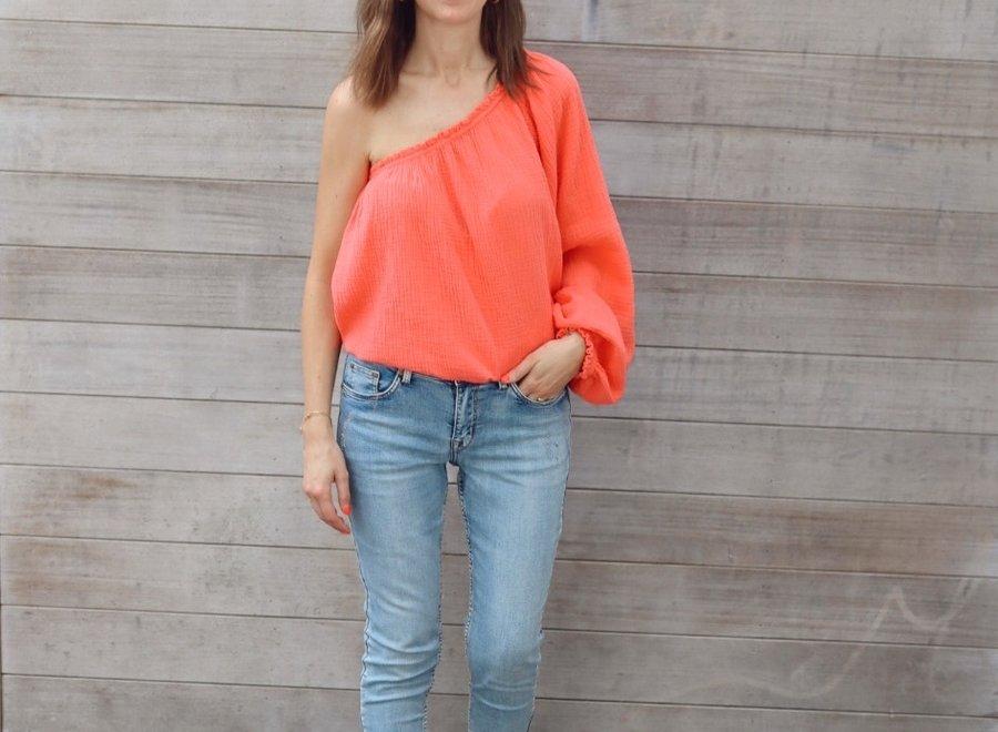 Tetra top Alice orange