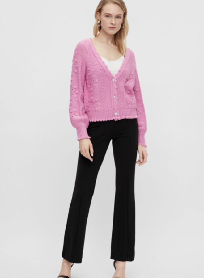 Yasbarbara knit cardigan Fuchsia