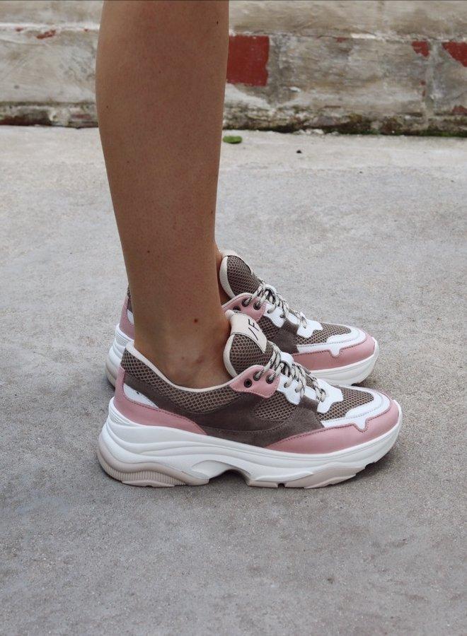 Sneakers Gavina chalk pink