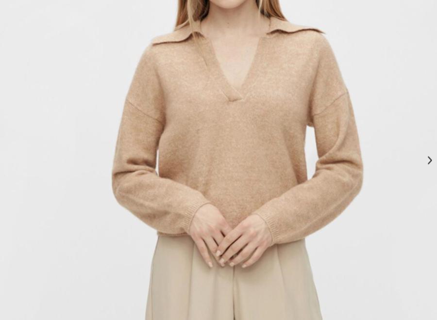 Yasnorus knit pullover cuban sand