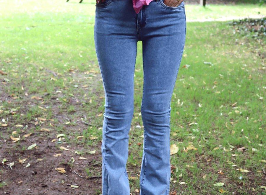 Bootcut jeans light blue