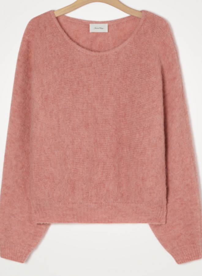 Pull mc col rond tendresse chine