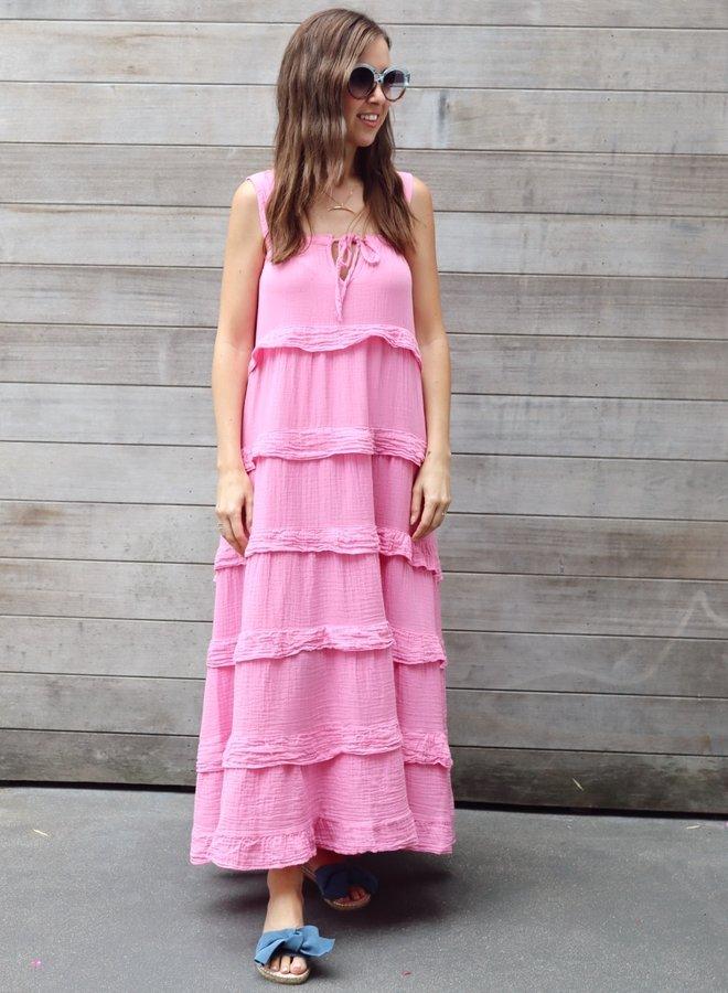 Tetra maxi dress Paris Pink