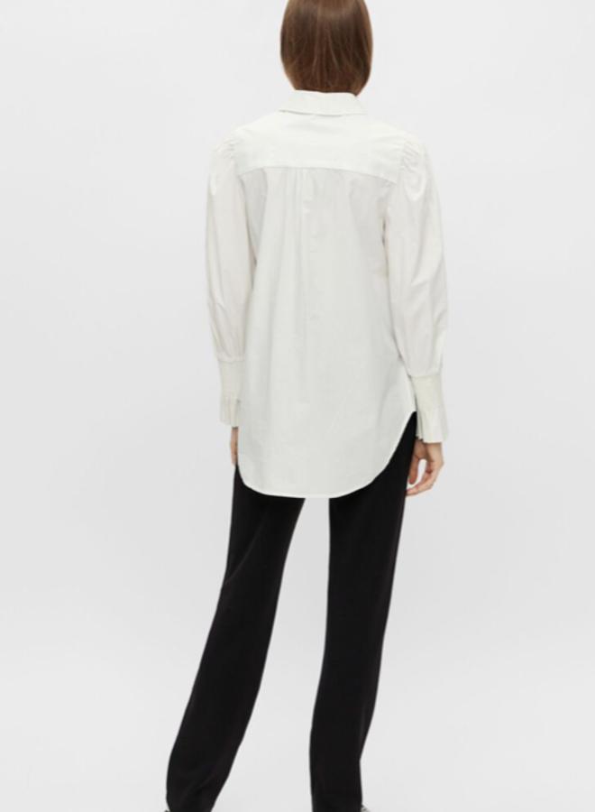 Yaslai ls shirt star white