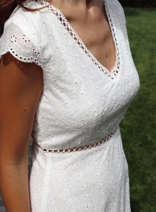 Dress Rachel white