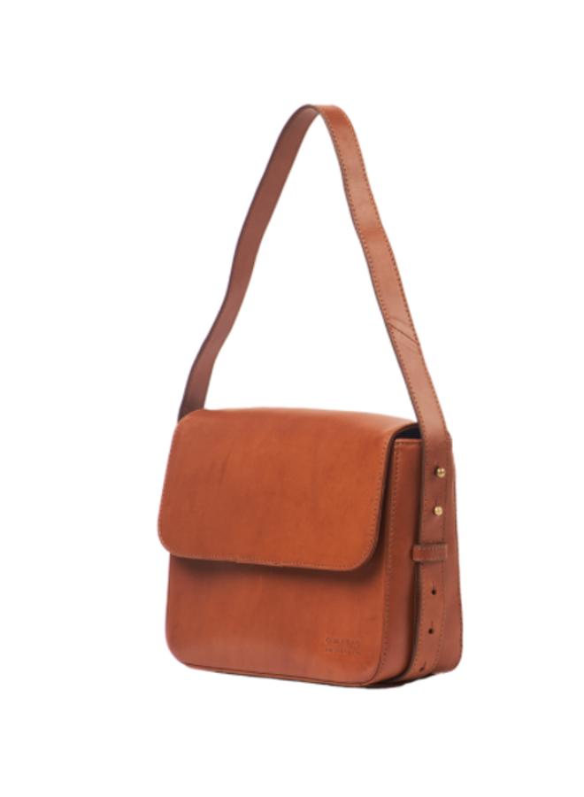 Gina bag cognac classic leather