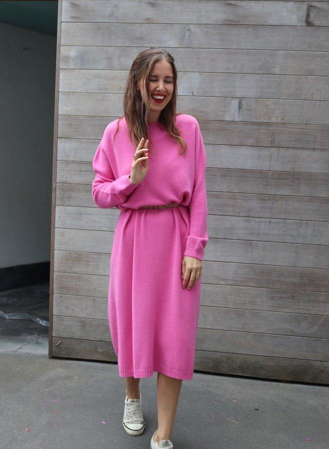 Knitted dress Lynn tropical