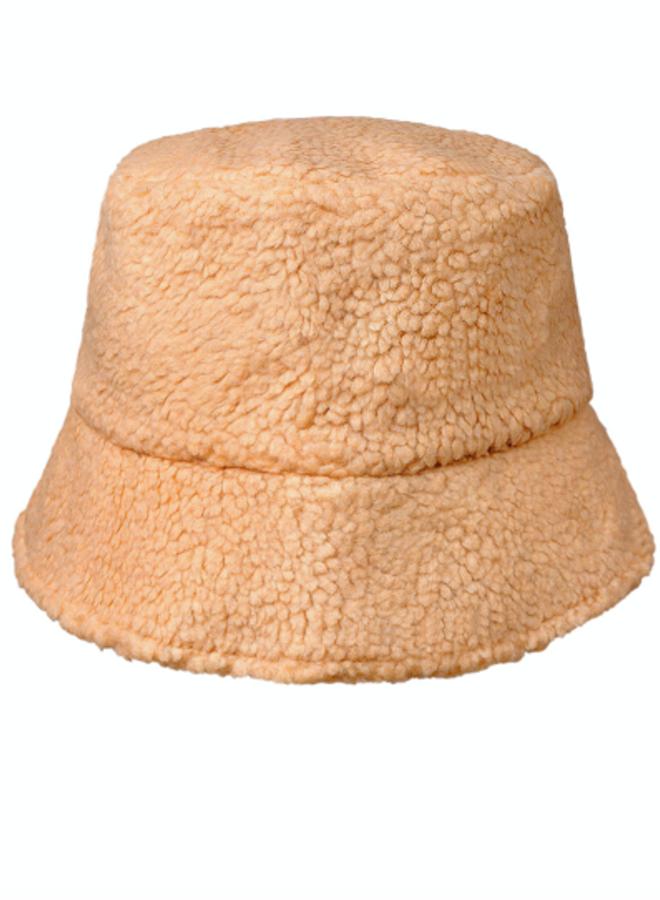 Bucket teddy hat camel