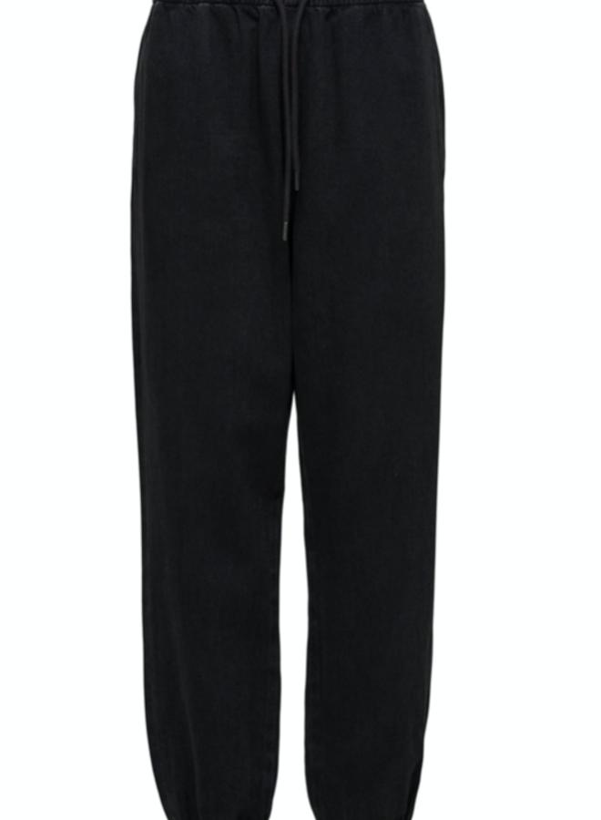 Slfmolly black denim pants